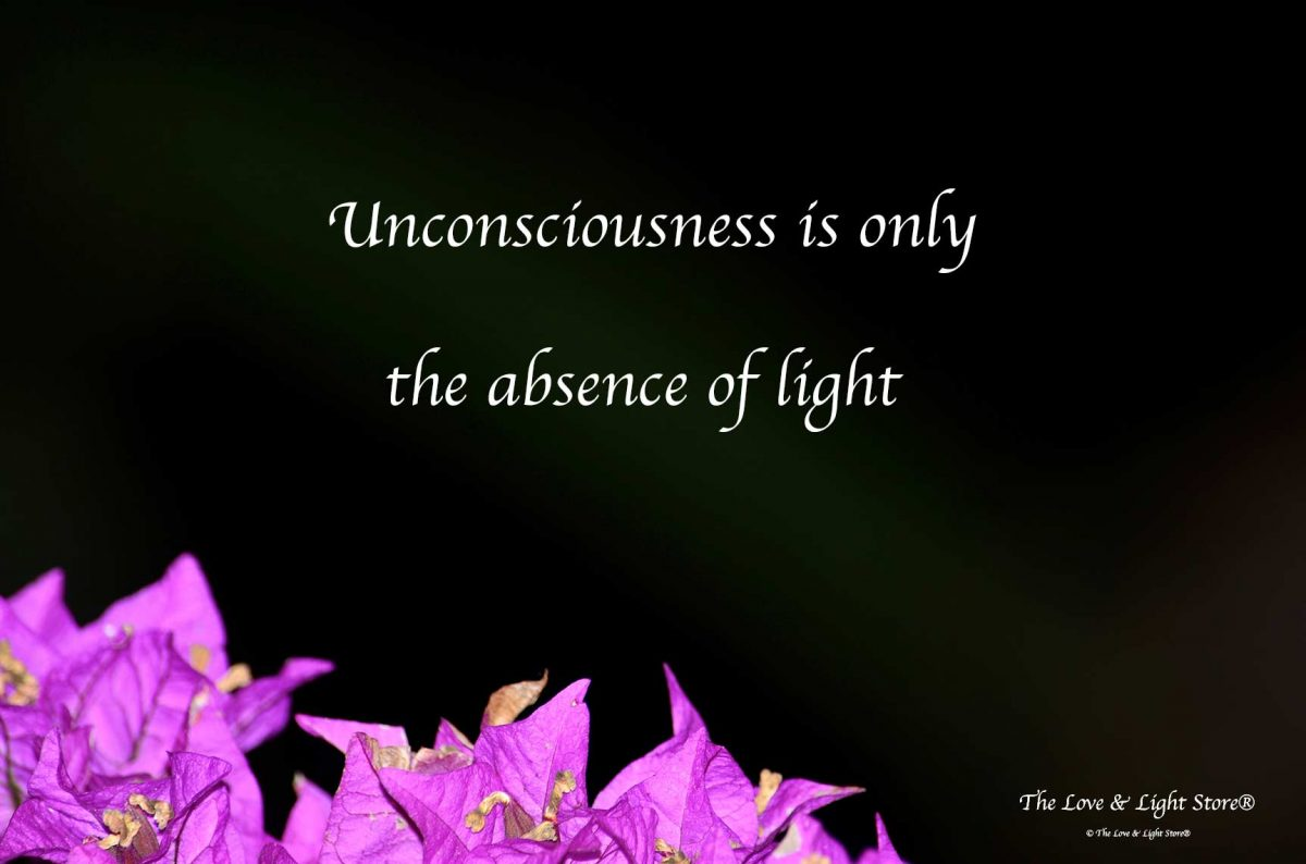 consciousnesses in truth has never been lost upon any of us, it can never be lost upon any of us. It is what we all are in essence. We have simply forgot it