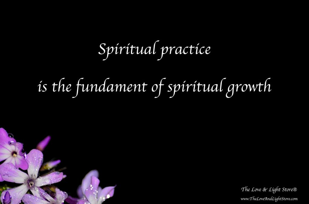 Having a spiritual practice is vital that we may build the spiritual muscles necessary to allow our inherent peace and liberation to come forth.