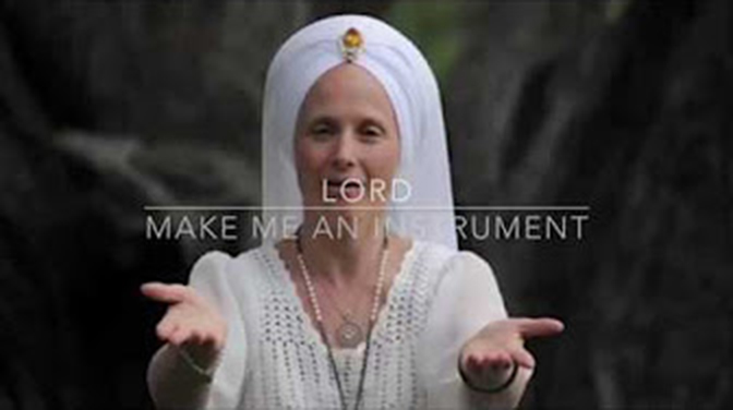 "If The Love & Light Store had a theme song it would be the song ""Servant of Peace"" by Snatam Kaur and in particular the Prayer of St Francis of Assisi."