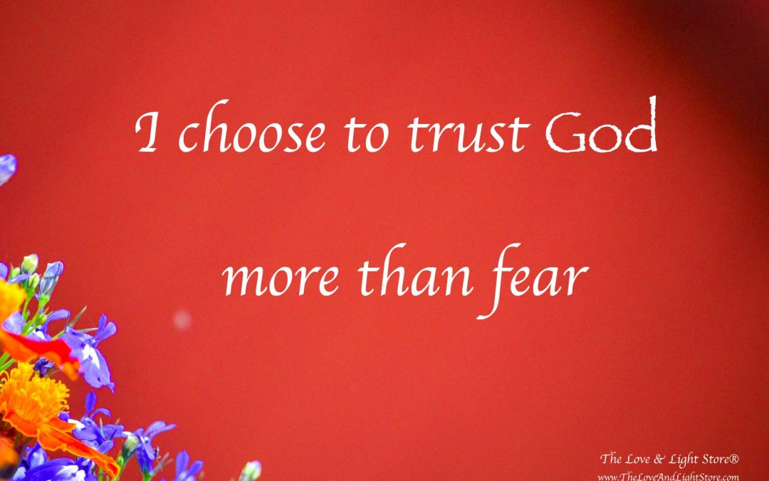 I choose to trust God more than fear – by Daniel Roquéo