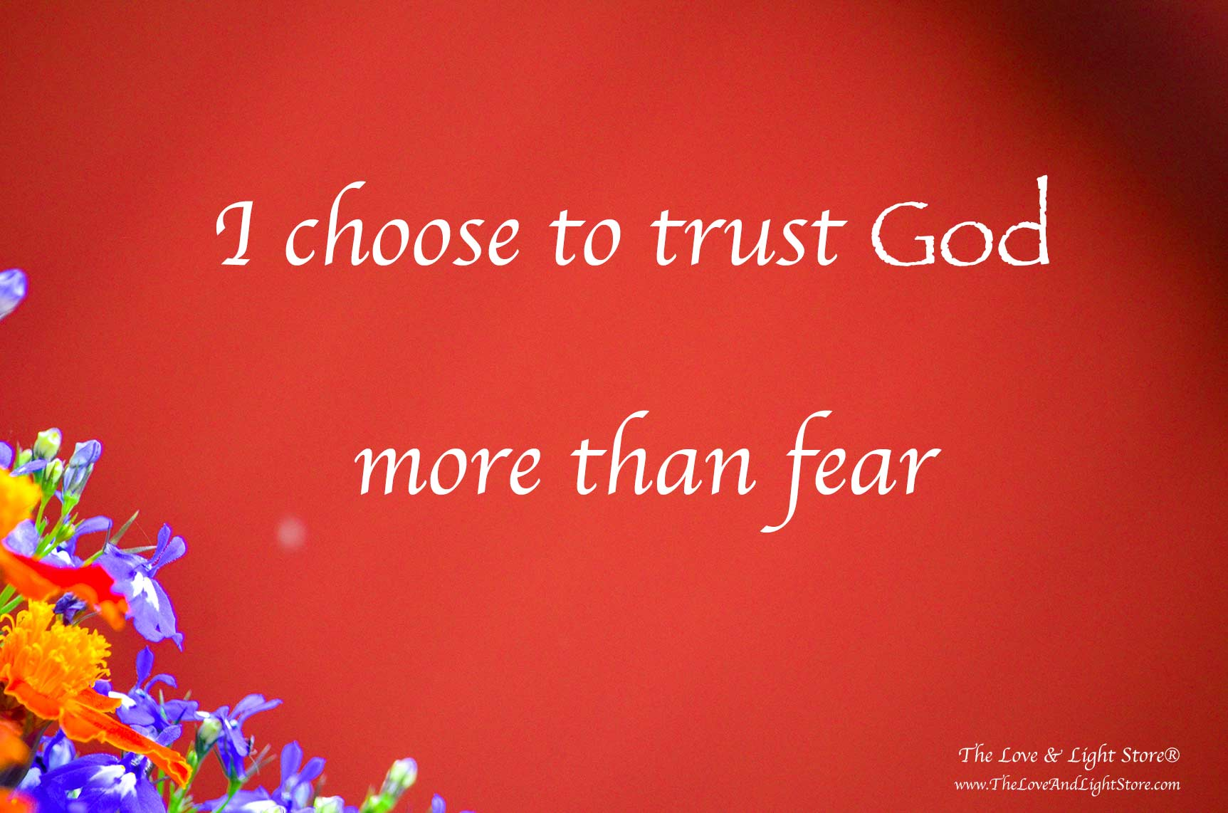 I choose to trust God more than fear - by Daniel Roquéo