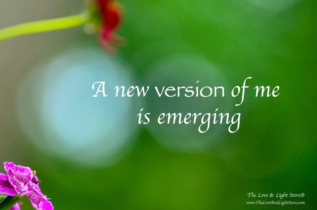 A new iteration of my mission has been revealed to me. A new me is now emerging. How I love this beautiful gift that life is. I love every step of it.