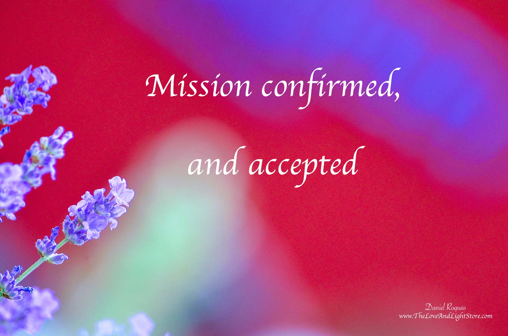 The mission I recently caught has been confirmed, through the grace of God it has now expanded further. Thank you God for guiding and leading me forth.